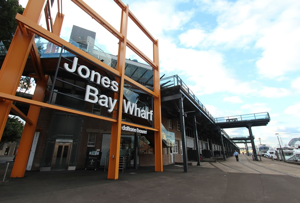 Jones bay wharf